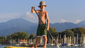 Chiemsee SUP (Stand Up Pudle)